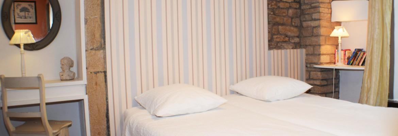 Chambre 2 - lits jumeaux